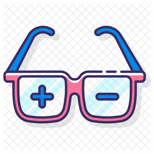 Prescription Glasses Icon Of Colored Outline Style Available In Svg Png Eps Ai Icon Fonts