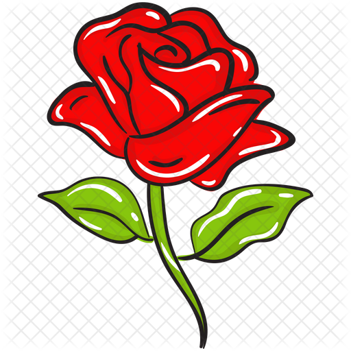 Rose Icon Of Doodle Style Available In Svg Png Eps Ai Icon Fonts
