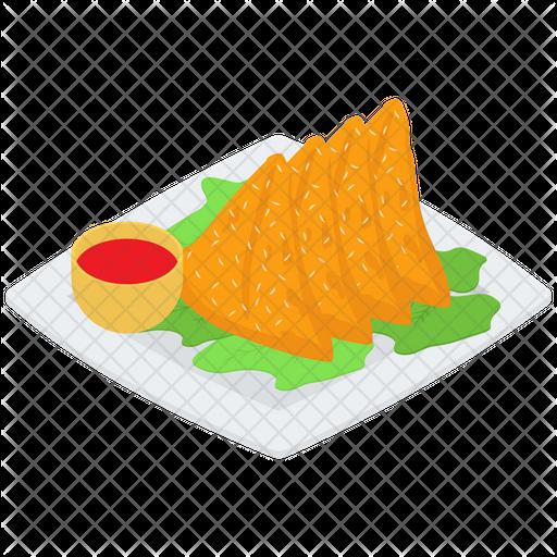 20+ Samosa App Logo PNG