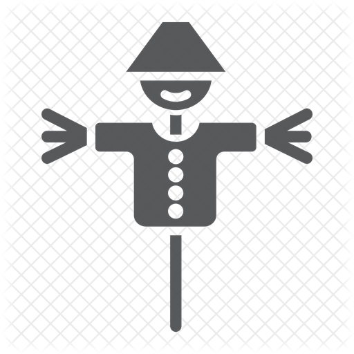 Scarecrow Icon Of Glyph Style Available In Svg Png Eps Ai Icon Fonts