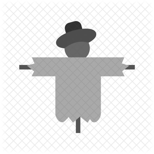 Scarecrow Icon Of Flat Style Available In Svg Png Eps Ai Icon Fonts