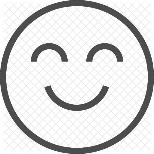 Smiley Face Icon Of Line Style Available In Svg Png Eps Ai Icon Fonts