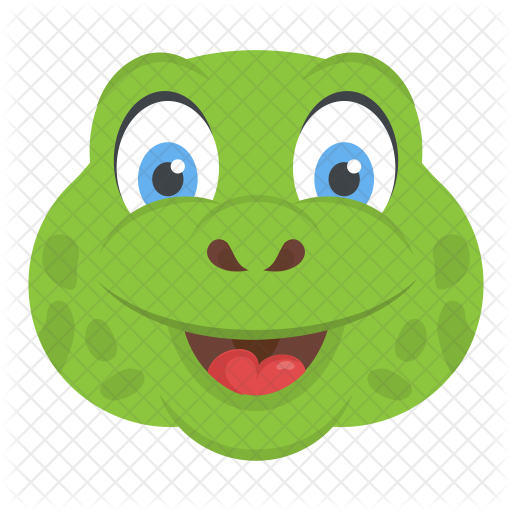 Smiling Turtle Icon Of Flat Style Available In Svg Png Eps Ai