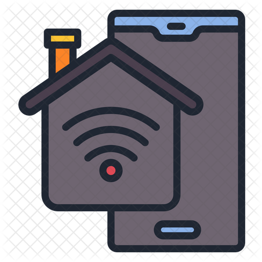 Smoke Detector Icon Of Colored Outline Style Available In Svg