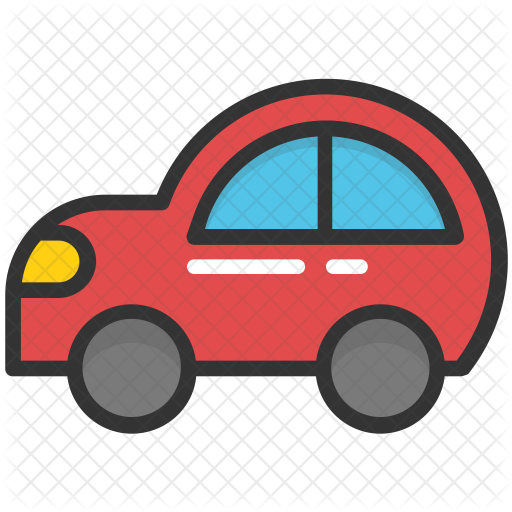 Toy Car Icon Of Colored Outline Style Available In Svg Png Eps