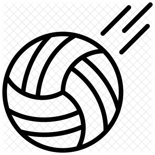 Volleyball Icon Of Line Style Available In Svg Png Eps Ai Icon Fonts