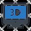 3 D Display