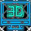 3D Monitor