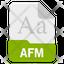 afm file