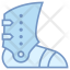 Armored boot