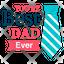 Best Dad Label