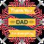 Best Dad Logo