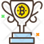 Bitcoin Reward Trophy
