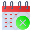 Cancel Calendar