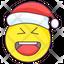 Christmas Laugh Emoji