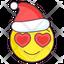 Christmas Love Emoji