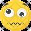 Confounded Emoji