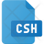csh file