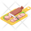 Cutting Sausages Board