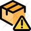 Delivery Box Warning