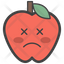 Dizzy Face Apple