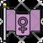 Feminism Flag