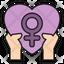 Feminism Heart