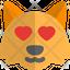 Fox Heart Eyes