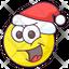 Happy Santa Emoji
