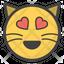 Heart Eyes Cat