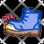 Homeless Torn Boot