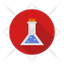 laboratory flask