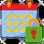 Lock Calendar