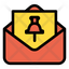 Mail Pin