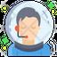 Male Astronaut