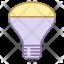 Mirrored reflector bulb