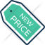 New Price tag