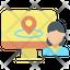 Online User Location