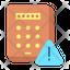 Pin code Keypad Warning
