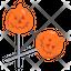 Pumpkin Lollipop