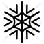 Raster Snowflake