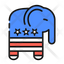 Republicans Party Symbol