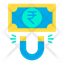 rupees attract
