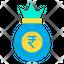 rupees bag