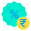 Rupees Discount