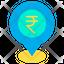 rupees location