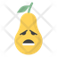 Sad Pear Face