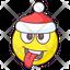 Silly Santa Emoji