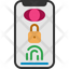 smartphone biometric lock screen