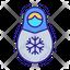 Snowflakes Matryoshka Doll